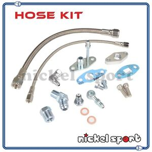 Turbo Oil Feed and Drain Line Kit TOYOTA CT12 CT20 CT26