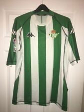 Real Betis Adults Memorabilia Football Shirts (Spanish Clubs)