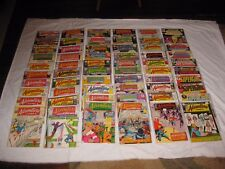 Silver & Bronze Age Super Lot of 59 ADVENTURE COMICS between #299-408, F- 5.5
