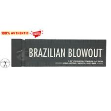 Brazilian Blowout Model 11T22 Prodigital Titanium Flat Iron, Grey - 110W