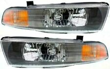 2002 2003 MITSUBISHI GALANT HEAD LAMP LIGHT LEFT AND RIGHT PAIR SET