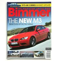 Nov 2007 Bimmer Magazine About BMW 4th Generation M3 Tactile Missile 3 Series