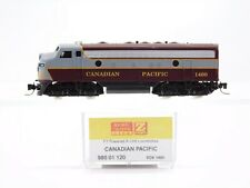 Z Micro-Trains MTL 98001120 CP Canadian Pacific EMD F7A Locomotive #1400