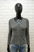 Maglione Abercrombie & Fitch Felpa Donna Size M S Pullover Sweater Cardigan Lana