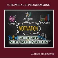 Extreme Self Motivation Subliminal Program CD - Motivation Subliminal Hypnosis