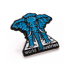 Mike Vallely World Industries Elephant On The Edge Prime Enamel Lapel Pin