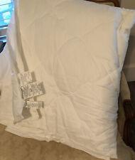 Pottery Barn KING/CAL KING Lightweight Down Alternative Comforter Duvet Insert