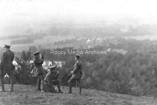 Ztr-72 Military, WWI, Officer Group, Halton Camp. Photo