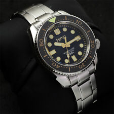 Sharkey SBDX001 NH35 Tuna Diver Automatic Wristwatch Man Band 300M Gold JAPAN