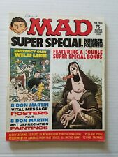 Mad Magazine Super Special # 14 1974 w/6 Posters