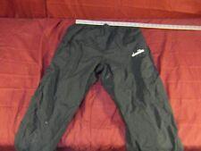 Vintage Diadora Track Pants Retro Mens size M Soccer Lined Black ~ NM 13651