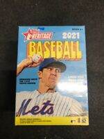 2021 Topps Heritage Baseball Blaster Box Factory Sealed Box Adell MINT FROM CASE