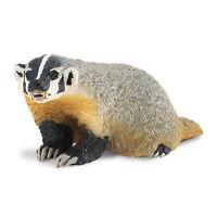 American Badger North American Wildlife Safari Ltd NEW Toys Educational Kids