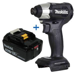 "New Makita XDT15ZB 18V 1/4"" Hex Impact Driver w/ BL1850B 18V 5.0 Ah Battery"
