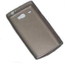Silicona TPU Cover Case Handy tapa en Smoke para Samsung i8350 Omnia W