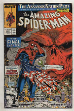 THE AMAZING SPIDERMAN   No 325 by MARVEL COMICS  FINE/V FINE  1989