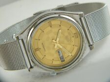 OLD VINTAGE SEIKO 5 AUTOMATIC JAPAN MEN'S DAY/DATE WATCH 413g-a207764-1