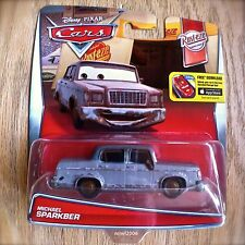 Disney PIXAR Cars MICHAEL SPARKBER diecast RUST-EZE theme 6/12 rusty junker 2016