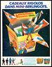 RARE Pub Publicité Advertising  TINTIN - HERGE  Vintage Année 1981
