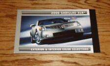 2006 Cadillac XLR Exterior & Interior Color Selections Brochure 06