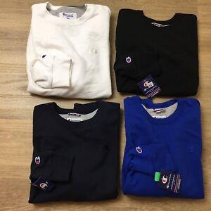 mens champion crewneck sweatshirts gray blue white black