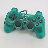 PS1 Analog Controller Emerald SCPH-1200 Playstation Made in Japan C