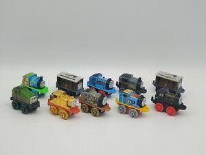 Thomas The Train And Friends Minis Lot Of 9 Mini Trains