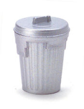 Garbage Can / Dustbin / Rubbish Bin, Miniature Dolls House Removable Lid