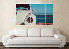 Large Volkswagen Beetle(2) Bug Camper R32 VR6 G60 Wall Poster Art Picture Print