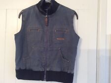 Ladies Denim Gilet Lambretta SIZE 10