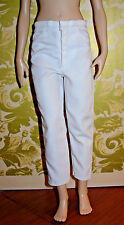 Diana Franklin Mint White Shorter Style Pants ONLY Fits: Marilyn Monroe
