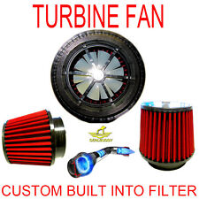 Chevrolet Performance Turbo Air Intake Cone Filter With Free Supercharger Fan!