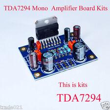 TDA7294 mono audio power amp amplificateur board kits dual dc 40V 80W 20Hz-20KHz