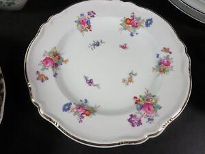"""Copeland Spode Dresden Rose 9-1/4"""" Luncheon Plate"""