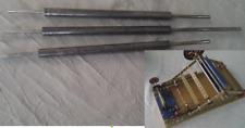 Meccano - Rouleaux pour machine à cintrer et redresser largeur 11 trous