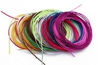 16 packs Flat Elastic Stretchy Floss Flexible String Worm Fly Tying Materials