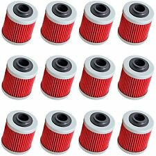 12-Pack Oil Filter Filters for Can-Am DS450 DS450X DS 450 X EFI MX XC All Models