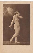 Erotik-Karte nackte Frau, Busen, Nude   (4)-(F26)