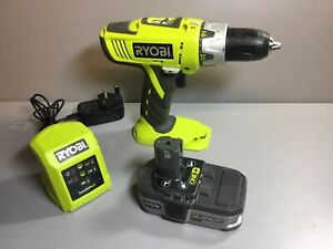 Ryobi LLCDI1802 Combi Drill Driver Hammer Drill With Battery And Charger