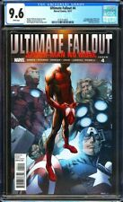 Ultimate Fallout #4 CGC 9.6 1st app. of the new Spider-Man (Miles Morales) L@@K!