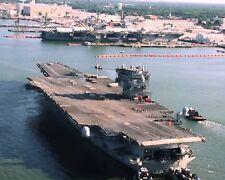 USS ENTERPRISE 8X10 PHOTO NAVY US USA MILITARY CV-6 SHIP BIG E