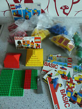 Lego Konvolut Basic Set 330, 310, 515; Basicplatte; Bäume 6317, Dachsteine rot