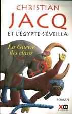 Livre et l'Egypte s'éveilla la guerre des clans Christian Jacq book