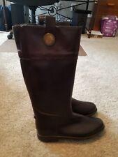 BANANA REPUBLIC Ladies' Size Euro 38 / UK 5 RAIN BOOTS (brown) Size 7Great