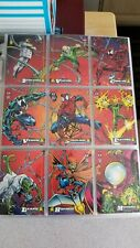 1994 Fleer AMAZING SPIDERMAN 1st EDITION Complete ,12 LIMITED & 4 HOLOGRAM cards