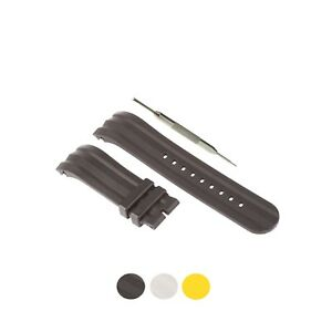 24mm Silicone Watch Strap Band Fits For Nautica A15564G,A15567G, A15574G W/ Tool