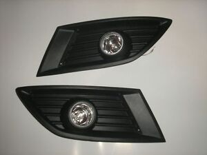 OPEL CORSA C COMBO 04-06 FRONT GRILLE FOG LIGHTS LAMP