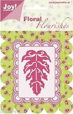 JOY CRAFTS DIE CUTTING STENCIL FLORAL FLOURISHES - LEAF 6003/0007