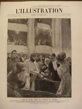 L'ILLUSTRATION 1912 N 3604  SARAH BERNARDT : L' AIGLON