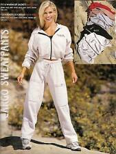 Body Alive Sport Cargo Pants Sweatpants S Beige
